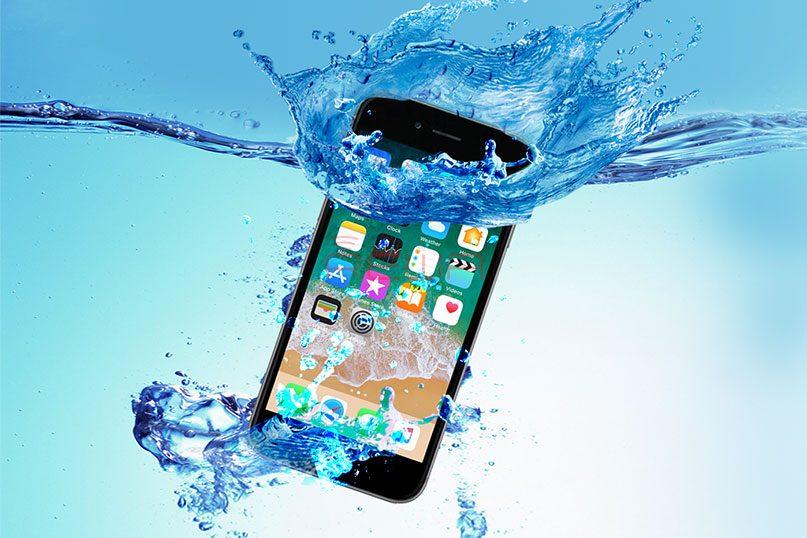 Wiederherstellen von Daten vom wassergeschädigten iPhone