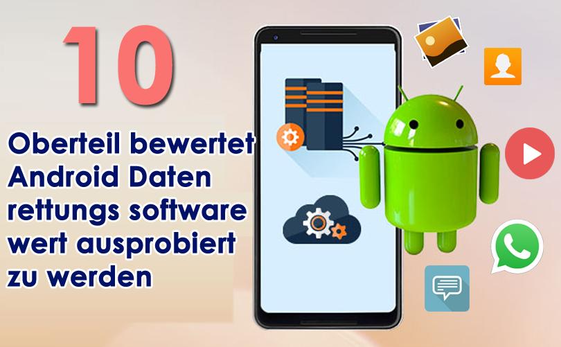 bewertet Android Daten rettungs software